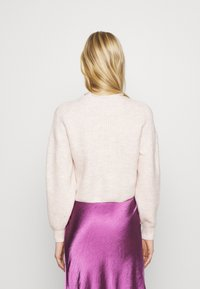 Topshop - ROLL CROP PINK - Jumper - neutral - 2