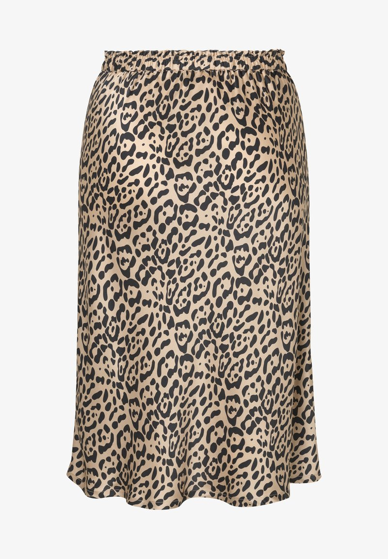 INAN ISIK - A-line skirt - beige