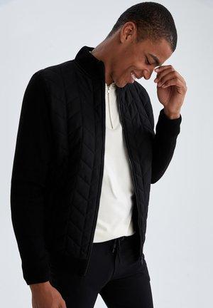 REGULAR FIT - Light jacket - black