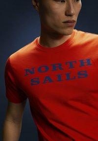 North Sails - T-shirt imprimé - red - 4