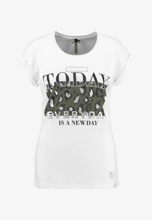 YESTERDAY - Print T-shirt - weiss