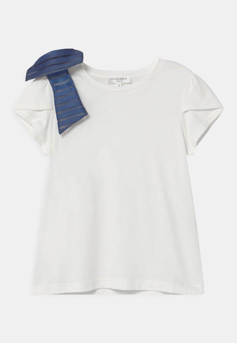Charabia - T-shirt imprimé - white