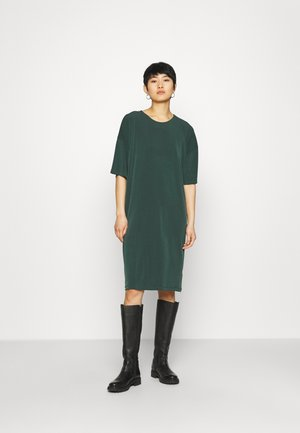 DRESS JENNA - Jersey dress - dark green