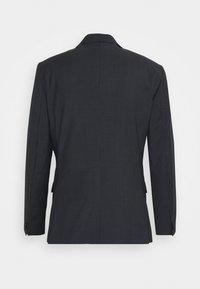 Calvin Klein Tailored - SHADOW GRID EXTRAFINE SUIT - Costume - blue - 1