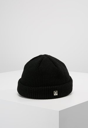 MICRO BEANIE UNISEX - Bonnet - black