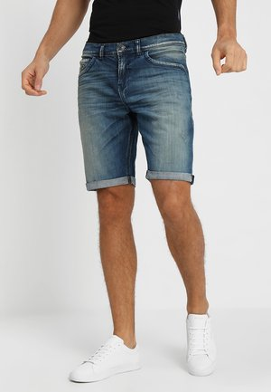 LANCE - Shorts di jeans - montone wash