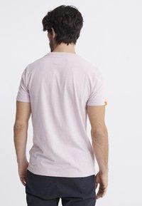 Superdry - VINTAGE CREW - Basic T-shirt - chalk pink - 2