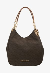 MICHAEL Michael Kors - LILLIE CHAIN TOTE  - Shopping bags - acorn - 5