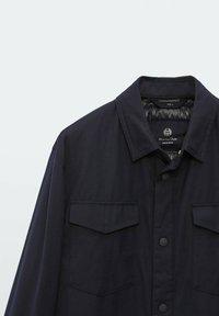 Massimo Dutti - Light jacket - dark blue - 4