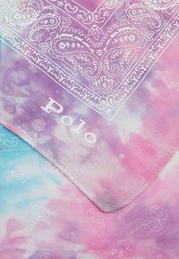 Polo Ralph Lauren - SPACE DYE BANDANA - Šátek - pastel multi - 2