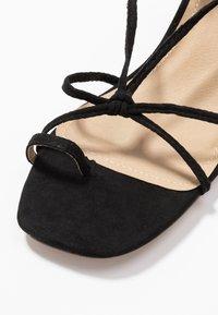 EGO - HESSI - Sandály s odděleným palcem - black - 2