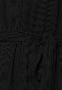 Object - OBJCELIA DRESS - Žerzejové šaty - black - 7
