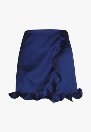 TILLY SKIRT - Spódnica mini - estate blue