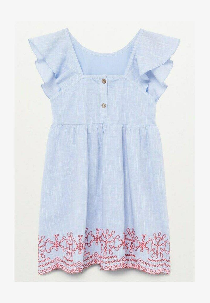 Mango - ALESSIA - Day dress - hellblau
