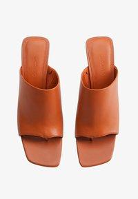 Mango - TON - High heeled sandals - orange - 1