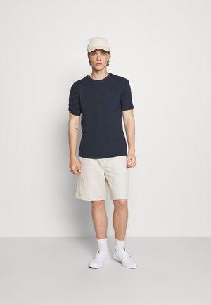 CHEST 2 PACK - T-shirts basic - navy/grey marl