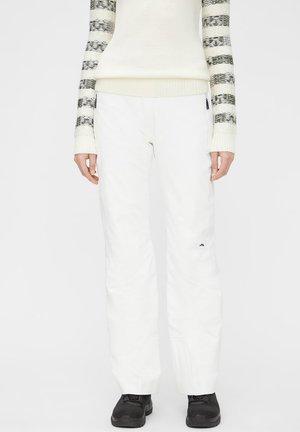 WATSON - Snow pants - white