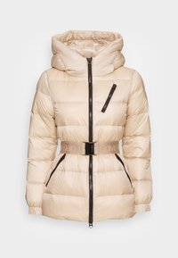 BELTED DOWN JACKET - Down jacket - grey