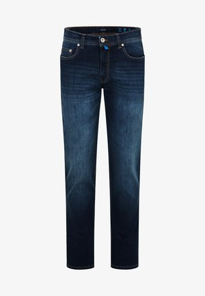 LYON TAPERED - Jeans Tapered Fit - dark blue used
