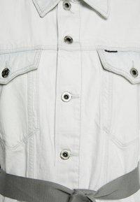 G-Star - REAL BOYFRIEND - Denim jacket - beach faded larimar - 2
