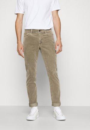 UNITY SLIM - Trousers - muddy beige