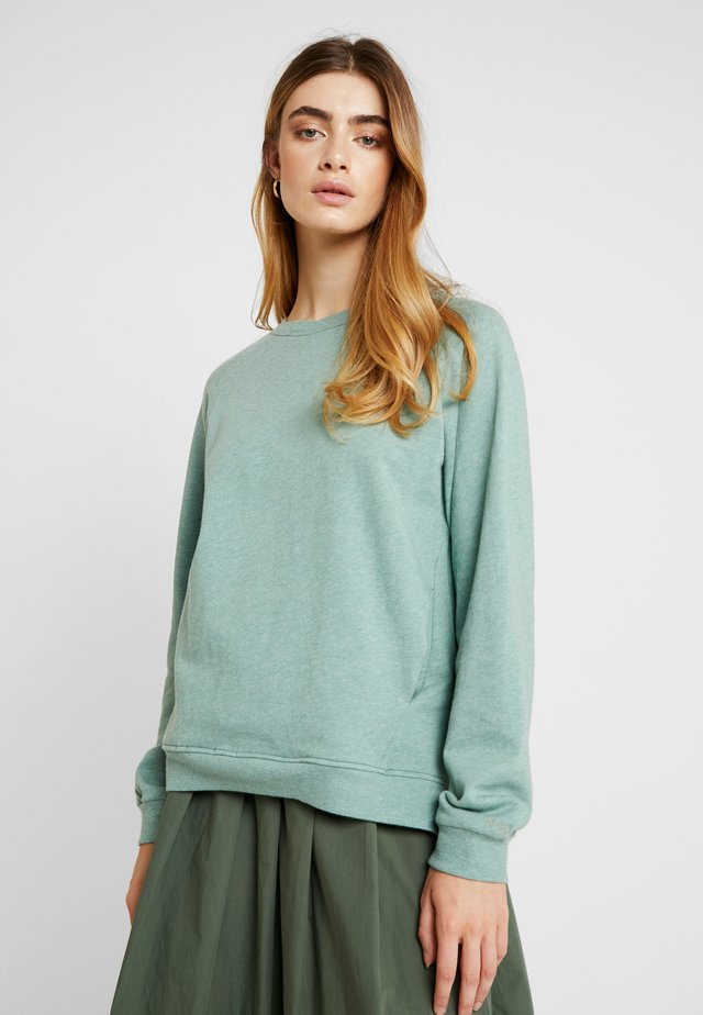 SOFIE RAGLAN - Sweatshirt - mottled green