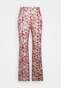 M Missoni - PANTALONE - Trousers - pink - 0