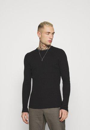 RAYNERA - Stickad tröja - jet black