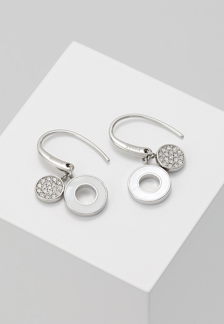 Fossil - CLASSICS - Earrings - silver-coloured
