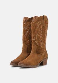 mtng - TEO - Cowboy/Biker boots - brown - 4