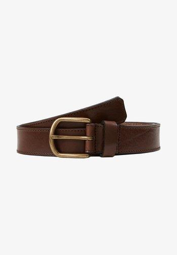 CAPITAL BELT - Belt - brown