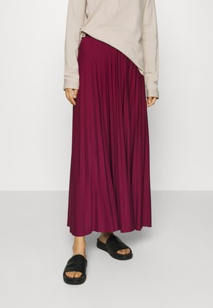 HEBE - Maxi skirt - berry