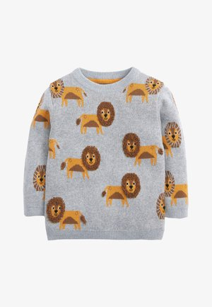 LION - Jumper - grey
