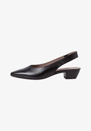 Classic heels - black nappa