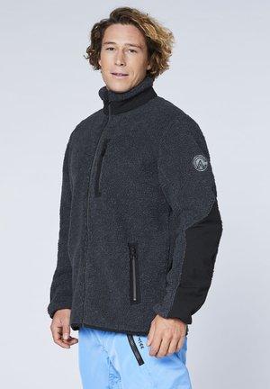 AUS TEDDYFELL - Fleece jacket - ebony
