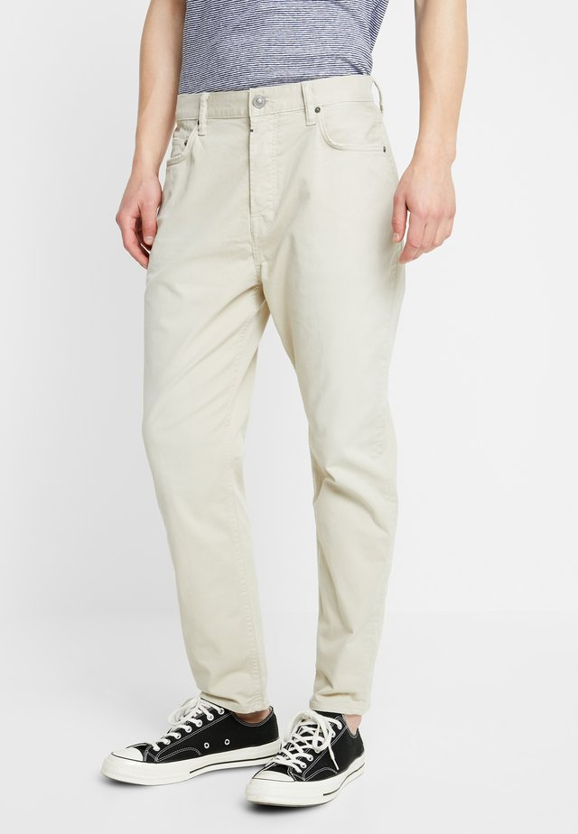 RIDGE - Trousers - barley taupe