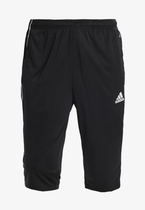 CORE ELEVEN AEROREADY 3/4 SPORT PANTS - 3/4 sportbroek - black/white