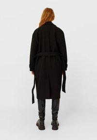 Stradivarius - Classic coat - black - 1