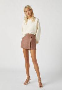 PULL&BEAR - A-line skirt - rose gold - 1