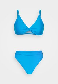 Missguided - TWIST FRONT - Bikini - blue - 4