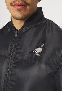 STAPLE PIGEON - REVERSIBLE UNSIEX - Bomber Jacket - black - 6