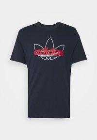 adidas Originals - GRAPHIC - T-shirt imprimé - legend ink - 4