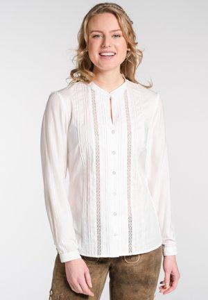 NIZZA - Button-down blouse - beige