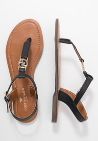 TOM TAILOR - T-bar sandals - navy - 3