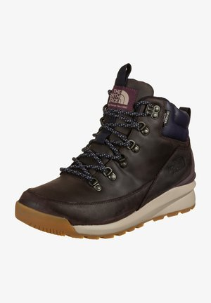 BACK TO BERKLEY MID - Lace-up ankle boots - root brown/navy