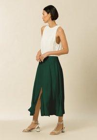 IVY & OAK - STELLA - A-line skirt - bayberry green - 2