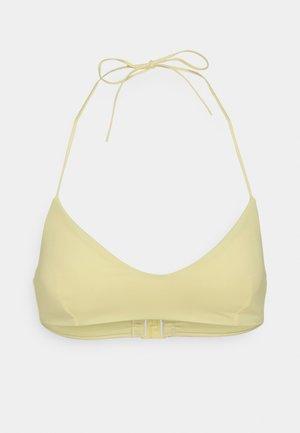 NOVA SWIM - Bikini top - light yellow