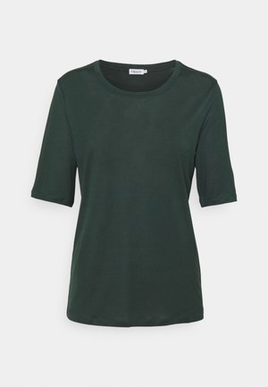 ELENA TEE - Jednoduché triko - green