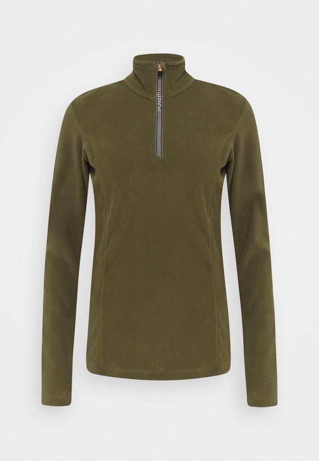 MISMA WOMEN - Fleece jumper - sprout
