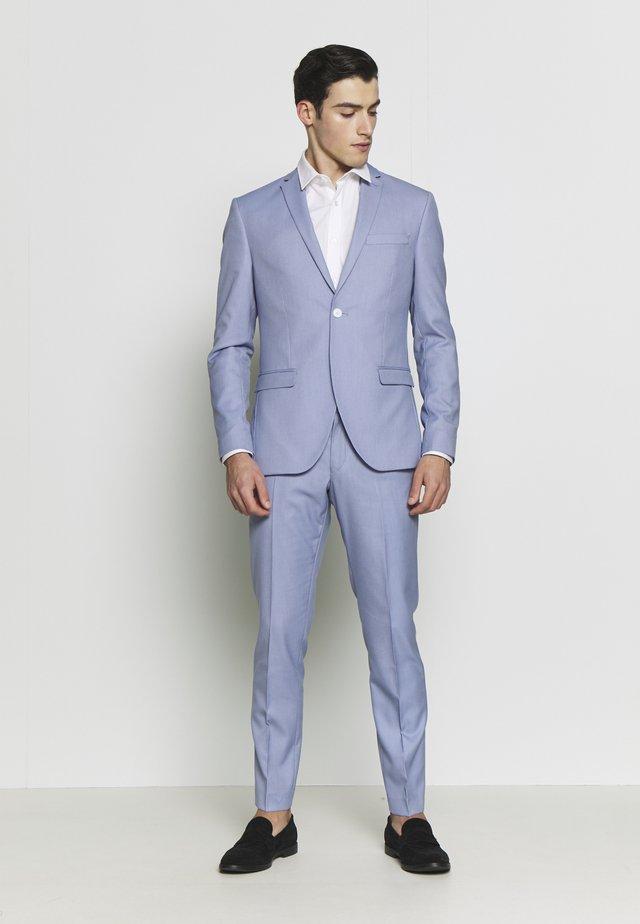 BIRDSEYE SUIT - Costume - blue